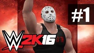 Прохождение WWE 2K16 на русском - часть 1 - Командное побоище