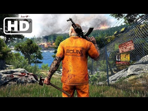 Scum Live stream! Full gameplay! New open world survival game! Steam based PVP game!