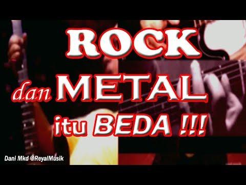 Belajar Gitar - ROCK Dan METAL Itu BEDA Masbro!!!