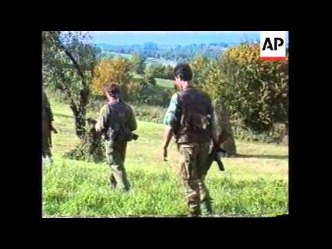 Bosnia - Battle Rages Near Sanski Most