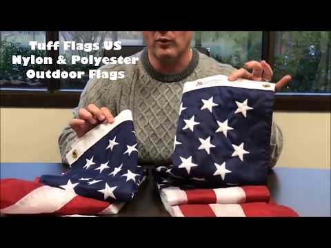 Tuff Flags US Nylon & Polyester Outdoor Flags