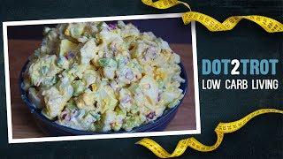 Keto Cauliflower Salad | a.k.a. Fauxtato Salad
