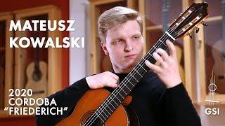 Štěpán Rak's Hora performed by Mateusz Kowalski on a Cordoba Luthier Select Series Friederich