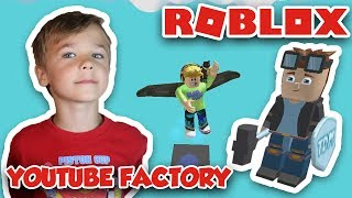 YOUTUBE FACTORY TYCOON in ROBLOX | FLYING TO THE SECRET PLACE