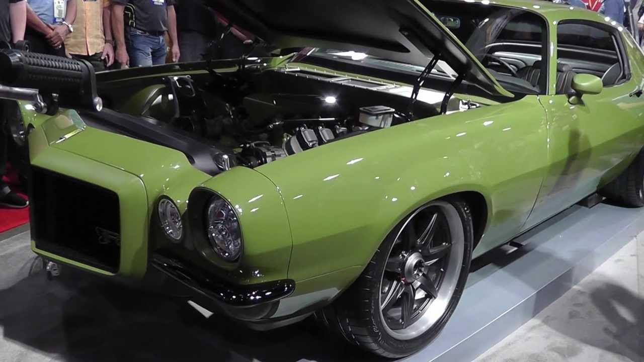 "Chevrolet Las Vegas >> Ring Brothers Reveal ""The Grinch"" 71 Camaro at 2012 SEMA"