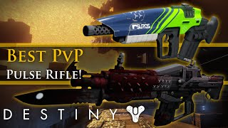 Destiny - What is the best PVP Pulse Rifle in Destiny?