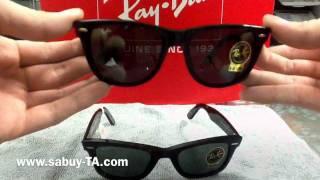 Review: Rayban Wayfarer By Sabuy-TA.com(แนะนำ Wayfarer ทั้งไซส์ 50 และ 54 มม แนะนำ 2132,rimless wafarer และ รุ่นfolding wayfarer www.sabuy-TA.com., 2011-12-20T19:00:49.000Z)