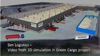 Sim Logistics customer project - Green Cargo.