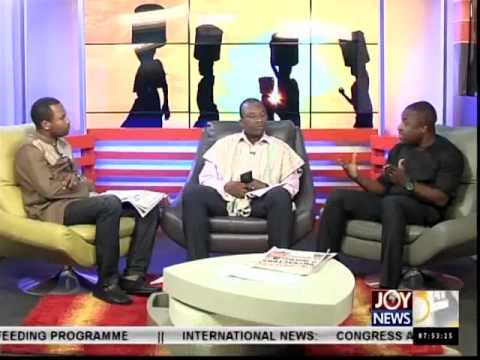GNPC Wants to Takeover Ghana Gas- AM Show (12-12-14)