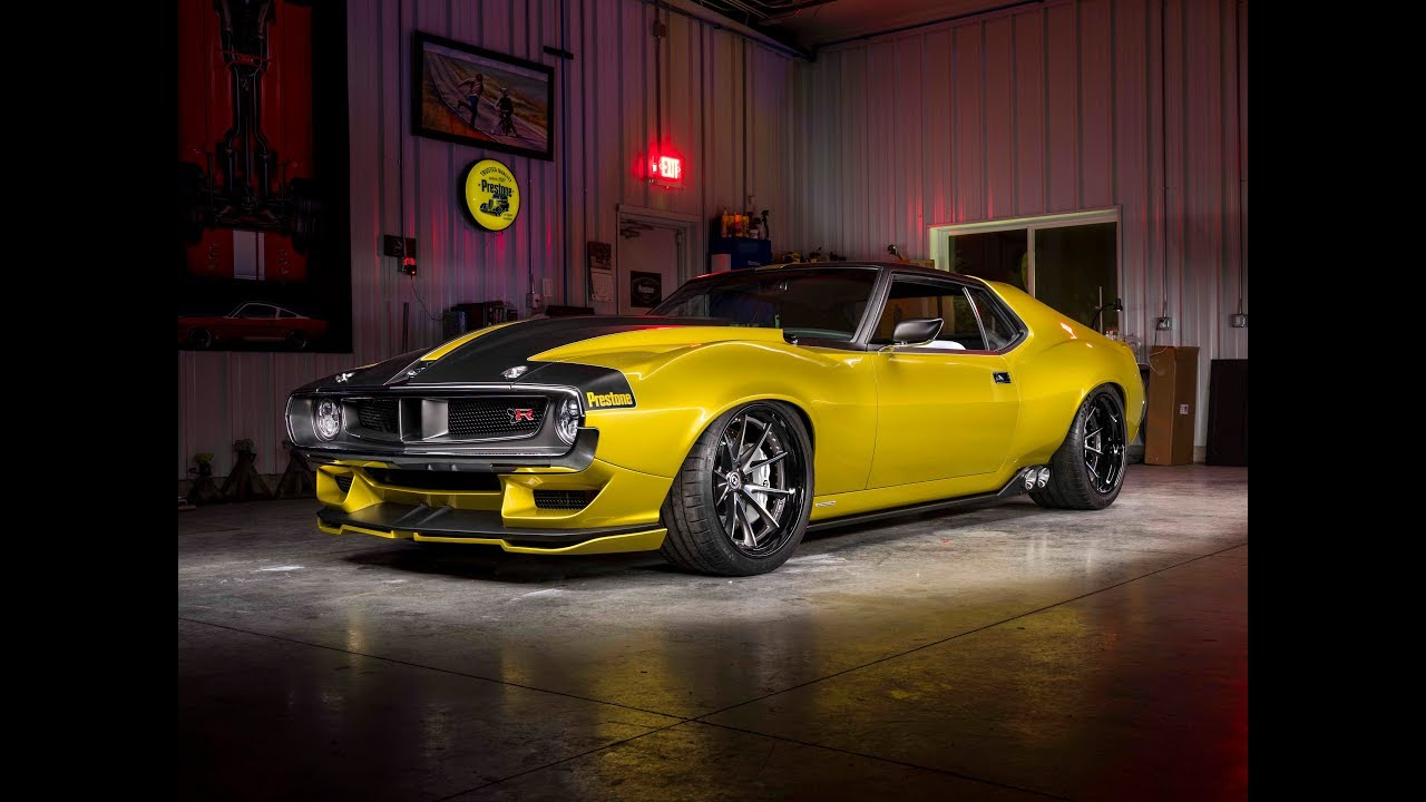 Ringbrothers Unveil Amc Javelin At 2017 Sema Show Youtube