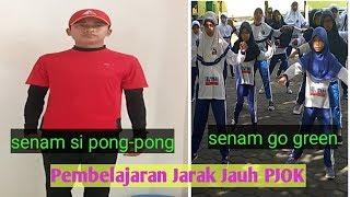 Download PJJ Pembelajaran jarak jauh PJOK  pekan ke 4 senam si pong-pong go green