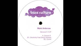 BCR044 : Mark Ambrose - Groove X