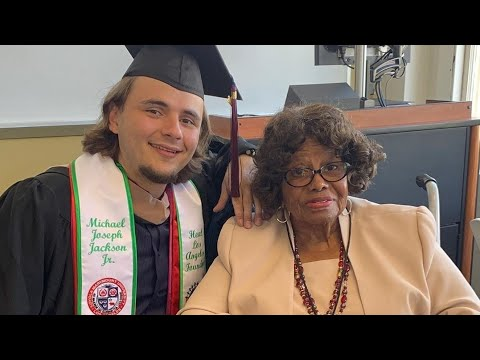 Michael's son Prince Jackson Graduates from Loyola Marymount University