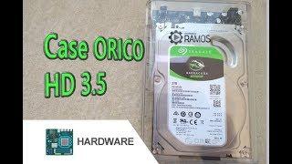 ⭐️ Como transformar um HD de PC 3.5 Interno em HD Externo USB 3.0 ⭐️ CASE ORICO 3139C3