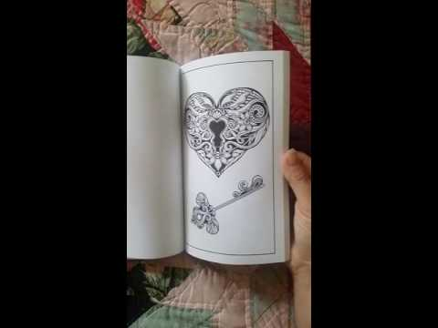 just-add-ink-adult-(tattoo)-coloring-book-flip-through