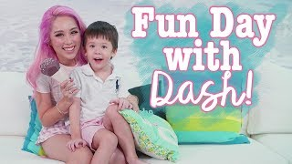 Vlog with Dash - Fun activities to do with your toddler at home!