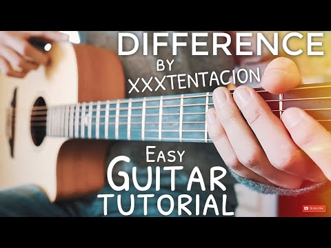 difference-xxxtentacion-guitar-tutorial-//-difference-guitar-//-guitar-lesson-#616