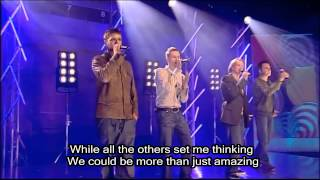 Westlife - Amazing with Lyrics