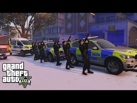 GTA 5 MODS UK POLICE | SCO19 LIVESTREAM! | LSPDFR: THE BRITI