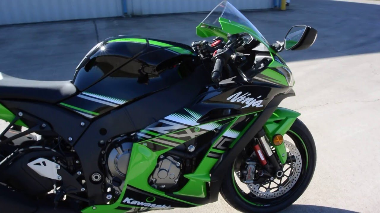 $16,299: 2016 Kawasaki ZX10R ABS KRT Edition Overview and Review