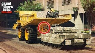 INSANE TANK LAUNCH GLITCH! - (GTA 5 Stunts & Fails)