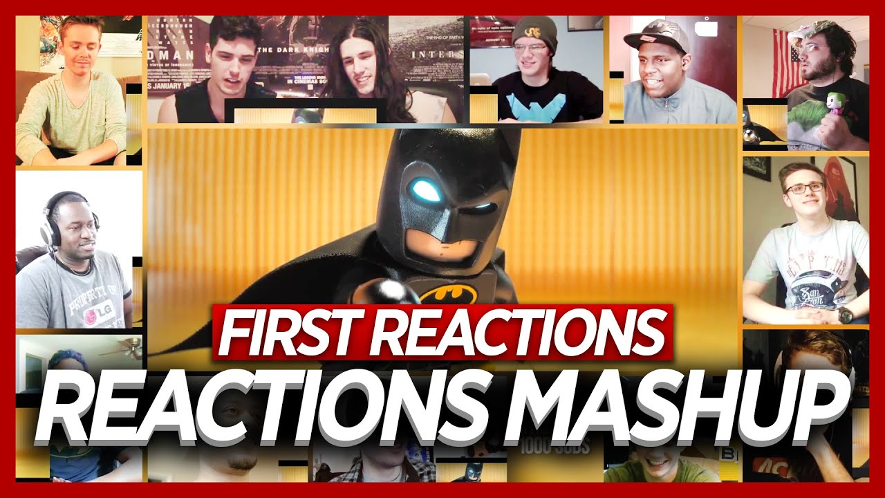 The Lego Batman Movie Batcave Teaser Trailer Reactions ...