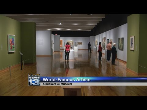 Work of world famous artists comes to Albuquerque exhibit