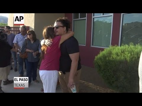 El Paso residents line up to donate blood