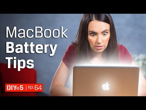 Mac Tips 💻 Macbook Pro Battery Life Tips 🔋 DIY in 5 Ep 64
