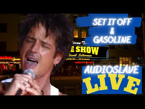 Chris Cornell and Audioslave - Set It Off / Gasoline (Live on The Late Show Marquee)