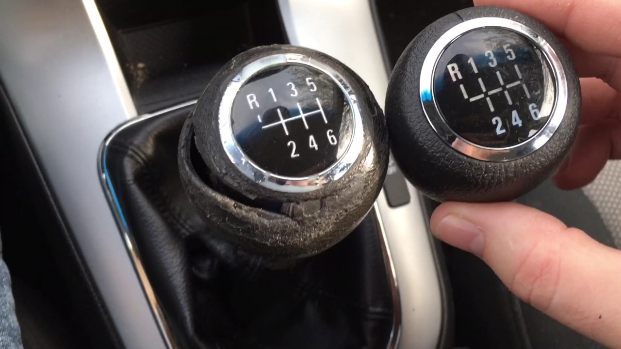 2011 Chevy Cruze $20 Manual Shift Knob Replacement - YouTube