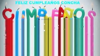 Concha  Birthday Cakes Pasteles