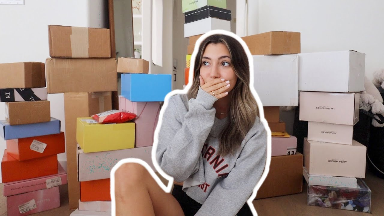 A YEAR OF PR PACKAGES! biggest unboxing haul ever!