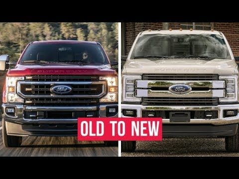 2020 Ford Super Duty F250 F350 F450 CHANGES