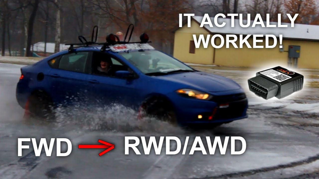 How To Convert FWD Car Into RWD/AWD with OBD2 Chip