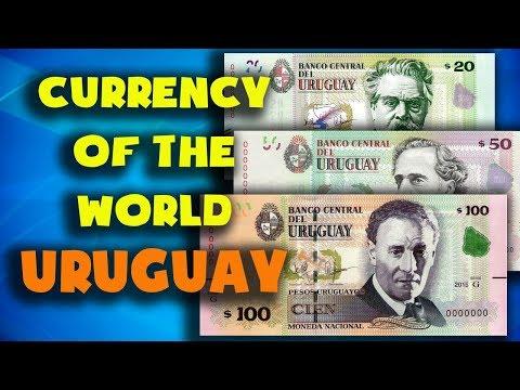 Currency Of The World - Uruguay.Uruguayan Peso. Exchange Rates Uruguay. Uruguayan Banknotes