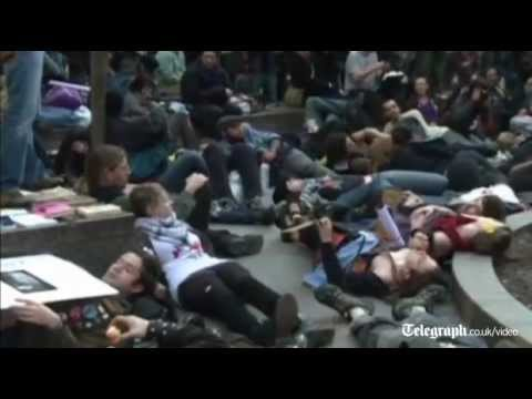 'Occupy' protesters return to New York's Zuccotti Park