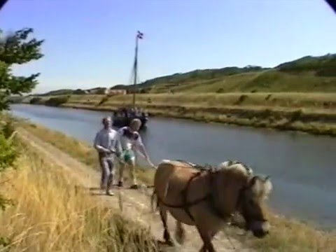 Hesteslæb af skibe 1994 Frederik d. VII kanal Løgstør
