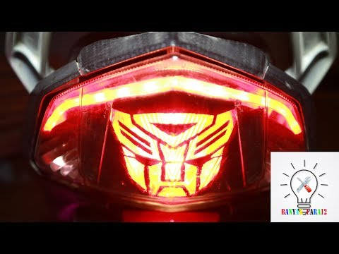 How To Created Custom Tail Light.Easy And Cheap.//Lazy Eyes.