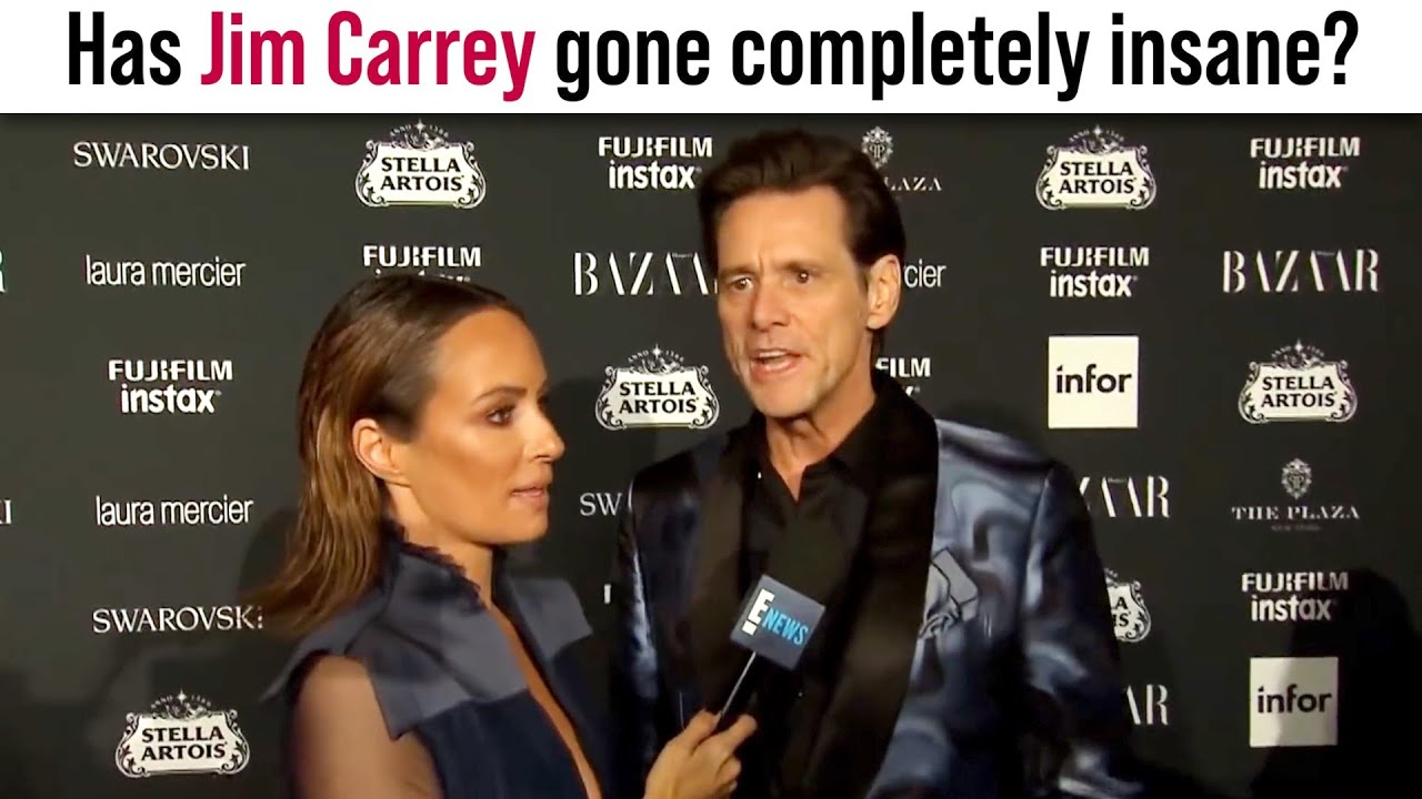 Has Jim Carrey gone completely insane?!