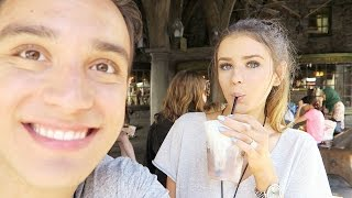 WE TRIED BUTTER BEER AT HARRY POTTER WORLD