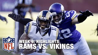 Rams vs. Vikings | Week 9 Highlights | NFL