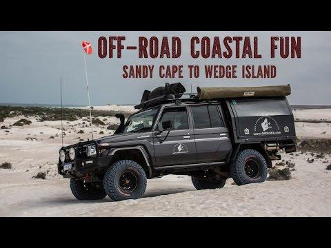 4 Wheeling Off-road Coastal Fun