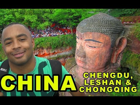 Leshan Giant Buddha | Chengdu & Chongqing, China! | AWESOME!!! | Don's ESL Adventure!