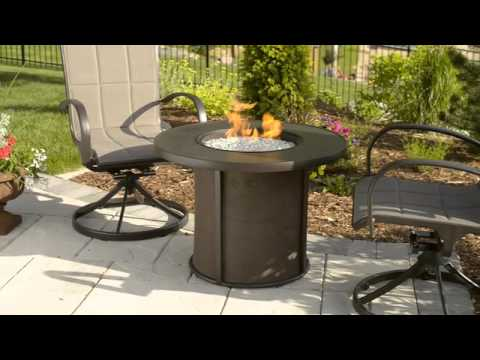 Stonefire Gas Fire Pit Table   The Outdoor GreatRoom Company