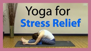Yin Yang Yoga for Stress Relief - 35 min All Levels Yoga Class