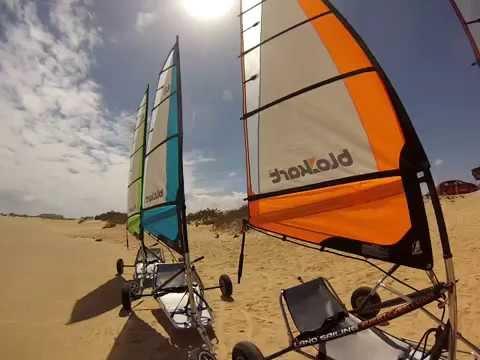 BloKart Landsailing Fuerteventura