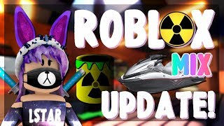 Roblox Mix #250 - Jailbreak, Arsenal and more! | *UPDATE!* JET SKI & NEW ROBBERY!!