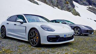 Porsche Panamera Turbo Sport Turismo vs Ferrari GTC4Lusso V12 | Top Gear: Series 26