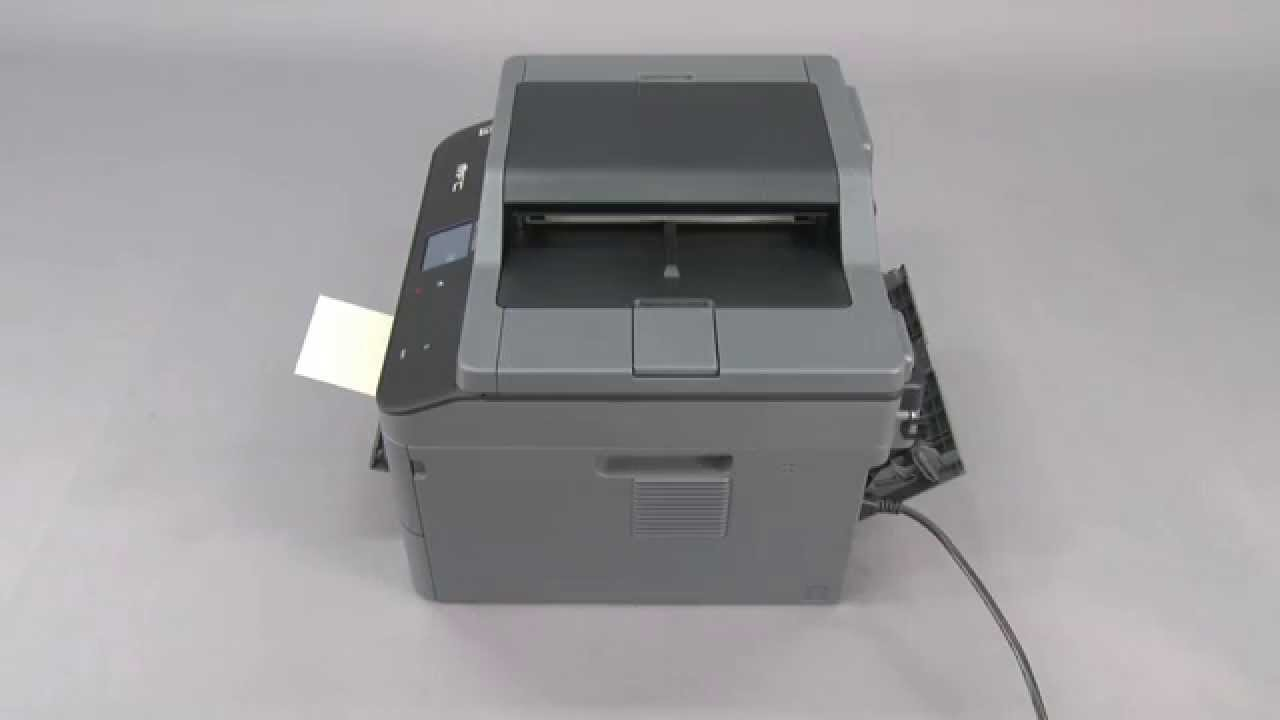 Brother printer Manual feed load paper Error